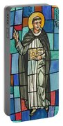 Thomas Aquinas Italian Philosopher Portable Battery Charger by Photo Researchers
