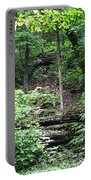 Thorncrown Chapel Setting In The Ozark Mountains Portable Battery Charger