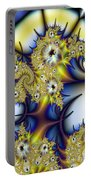 Thorned Flower Portable Battery Charger