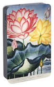 Thornton: Lotus Flower Portable Battery Charger