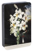Thornton: White Lily Portable Battery Charger
