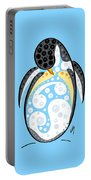 Thoughts And Colors Series Penguin Portable Battery Charger