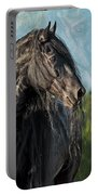 Thoughts Of Friesians Portable Battery Charger