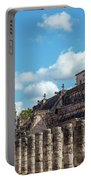 Thousand Columns And Temple Of The Warriors Portable Battery Charger
