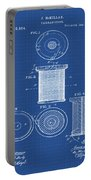 Thread Spool Patent 1877 Blueprint Portable Battery Charger