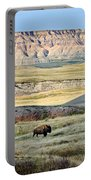 Three Bison Bulls Portable Battery Charger