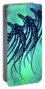 Three Crows Contemporary Minmalism Portable Battery Charger