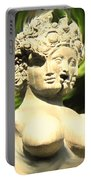 Three Faced Statue Portable Battery Charger