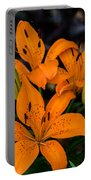 Three Lilies Portable Battery Charger