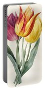 Three Lily Tulips  Portable Battery Charger