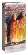 Three Little Monks Portable Battery Charger