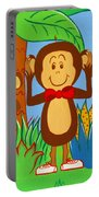 Three Monkeys No Evil Portable Battery Charger