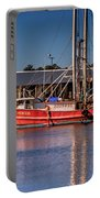 Three Princess Schrimpboat Portable Battery Charger