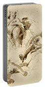 Three Studies Of The God Bacchus Portable Battery Charger