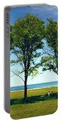 Three Trees Lake Shore Portable Battery Charger