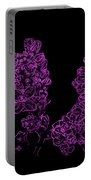 Three Very Purple Lilacs Portable Battery Charger