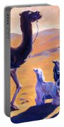 Three Wise Men Portable Battery Charger