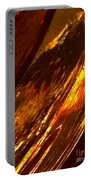 Through A Glass Darkly 3 Abstract Portable Battery Charger