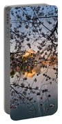 Through The Cherry Tree Portable Battery Charger
