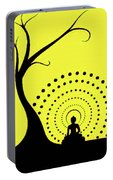 Through The Eye Of Buddhism Portable Battery Charger