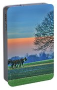 Through The Fields Portable Battery Charger