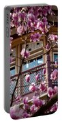 Through The Flowers Portable Battery Charger