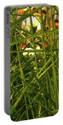 Through The Grass Curtain Portable Battery Charger