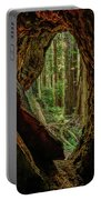 Through The Knothole Portable Battery Charger