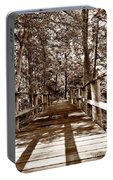 Through The Narrow Path  Portable Battery Charger