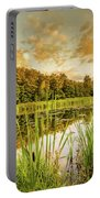 Through The Reeds Portable Battery Charger by Nick Bywater