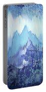 Through To Stillness Portable Battery Charger by Shadia Derbyshire