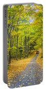 Through Yellow Woods 2 Portable Battery Charger