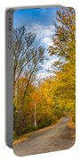Through Yellow Woods 3 Portable Battery Charger