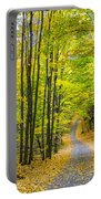 Through Yellow Woods Portable Battery Charger
