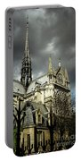 Thunderous Notre Dame Portable Battery Charger