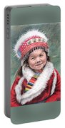 Tibetan Girl Portable Battery Charger