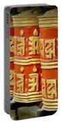 Tibetan Prayer Wheel  Portable Battery Charger