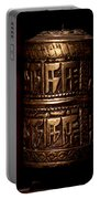 Tibetan Prayer Wheel Portable Battery Charger