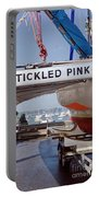 Tickled Pink In Mylor Cornwall Portable Battery Charger