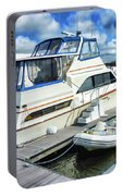 Tidewater Yacht Marina 5 Portable Battery Charger by Lanjee Chee