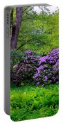 Tiergarten In Spring Portable Battery Charger