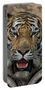 Tiger Abstract Portable Battery Charger
