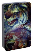 Tiger And Deer Portable Battery Charger