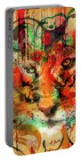 Tiger Burning Bright Portable Battery Charger