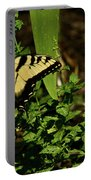 Tiger Butterfly Posing Portable Battery Charger