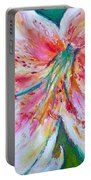 Tiger Lily Passion Portable Battery Charger