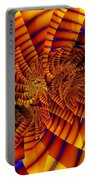 Tiger Lily Portable Battery Charger
