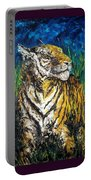 Tiger Night Hunt Portable Battery Charger