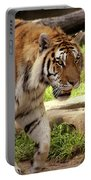 Tiger On The Hunt Portable Battery Charger
