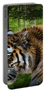 Tiger On The Prowl Portable Battery Charger